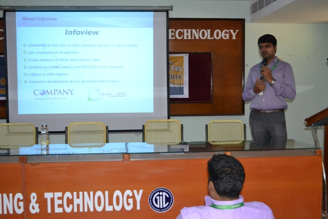 Infoview Technologies Pvt Ltd  On Campus Interview - 03.02.2016