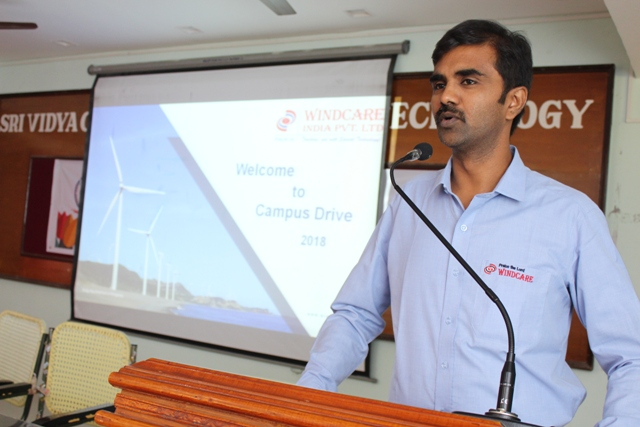 WindCare On Campus Drive on 25.01.2018