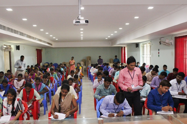 Sharon Solutions, Pondicherry Campus Drive on  23.01.2018