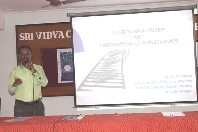 National Seminar on Basics of NanoScience & NanoTechnology on 09.02.2018