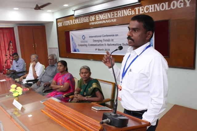 3rd International Conference  on  Emerging Trends in Computing, Communication & Automation Technology