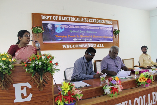 Conference on Emerging Trends in Electrical & Electronics on 16.03.2018