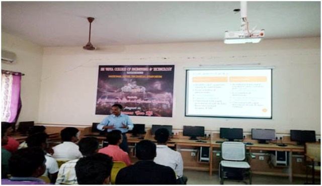 GUEST LECTURE on  Microcontroller Based System design on 27.07.2018