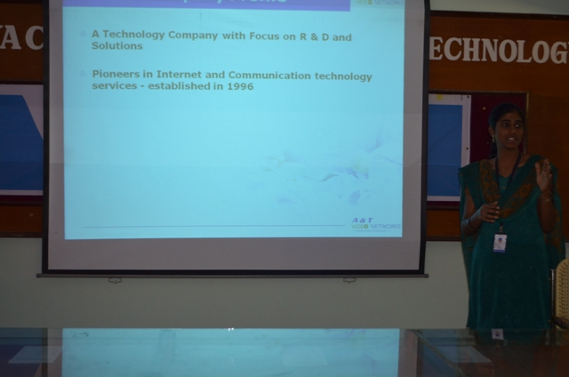 A&T Technologies on campus on 20-1-15