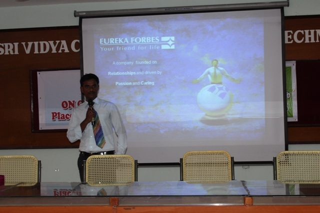 Eureka Forbes Limited - Campus Drive -  08.02.2016