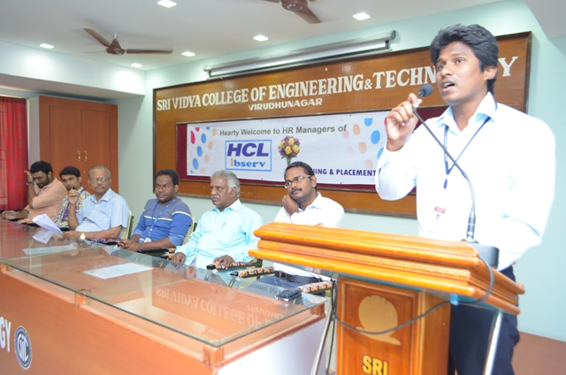 HCL Campus on 11-4-15