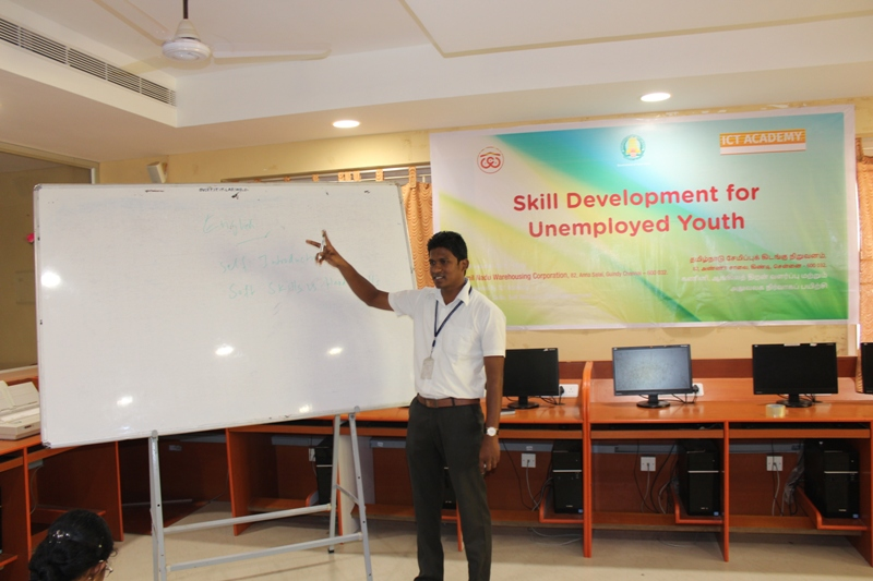 ICT Academy  Skill Development for unemployment youth  - Nov 2016