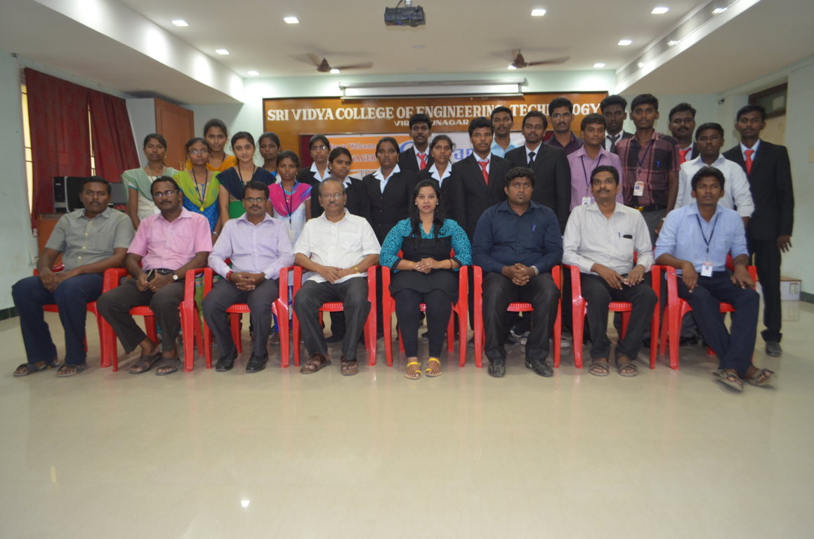 Pranas Technologies Pvt. Ltd Campus Drive on 09.10.2015