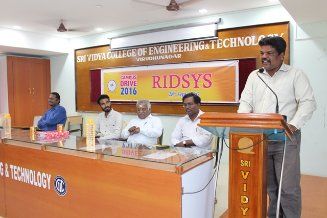 Ridsys Campus Drive - 28.09.2016