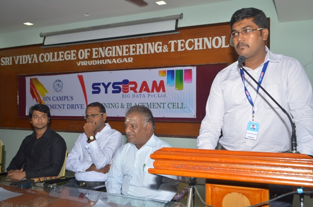 SYSRAM On Campus Drive
