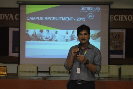 Sutherland Global Services - On Campus Drive - 30.03.2016