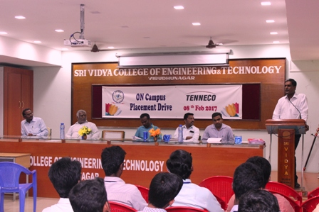 Tenneco Automotive Placement Drive - 08.02.2017