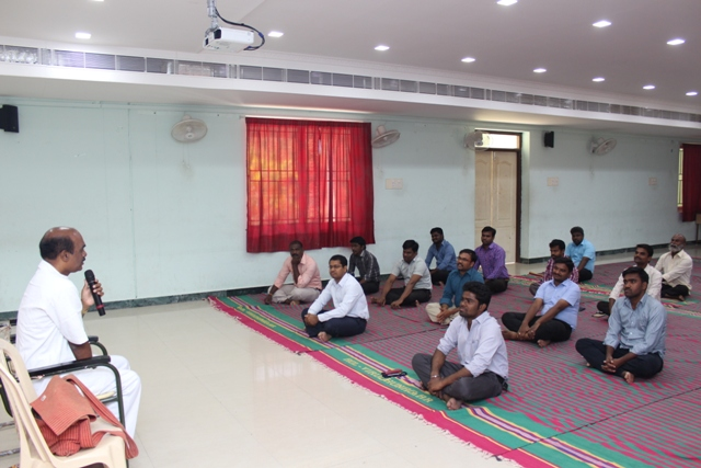 Yoga Class for staff members
