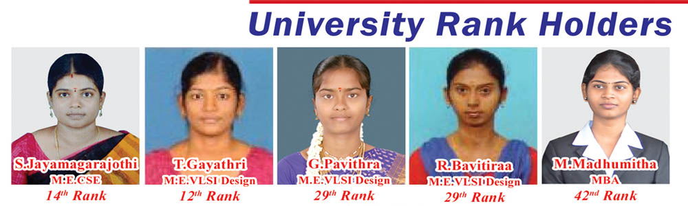University Rank Holders