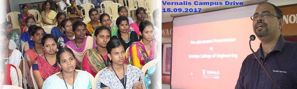 Vernalis Campus Drive 15.09.2017