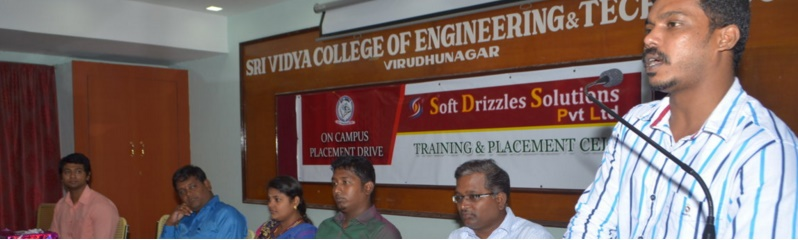 Soft Drizzles Solutions Campus Drive  - 19.10.2015