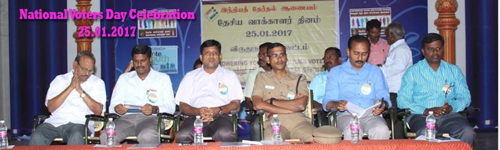 National Voters Day Celebration